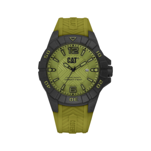 CAT KARBON – MILITARY GREEN MEN'S WATCH K1.121.23.331